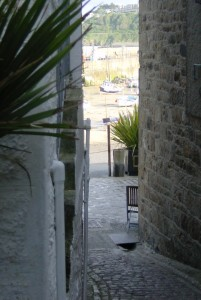 Short cut to St Ives Harbour