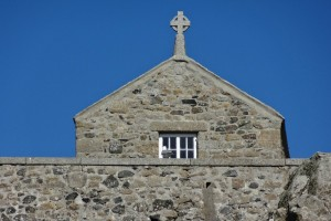 Chapel on the Island St Ives Cornwall