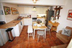 Kitchen in Holiday Cottage by the sea in St Ives
